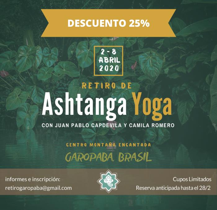 Encuentro de Ashtanga Yoga en Brasil