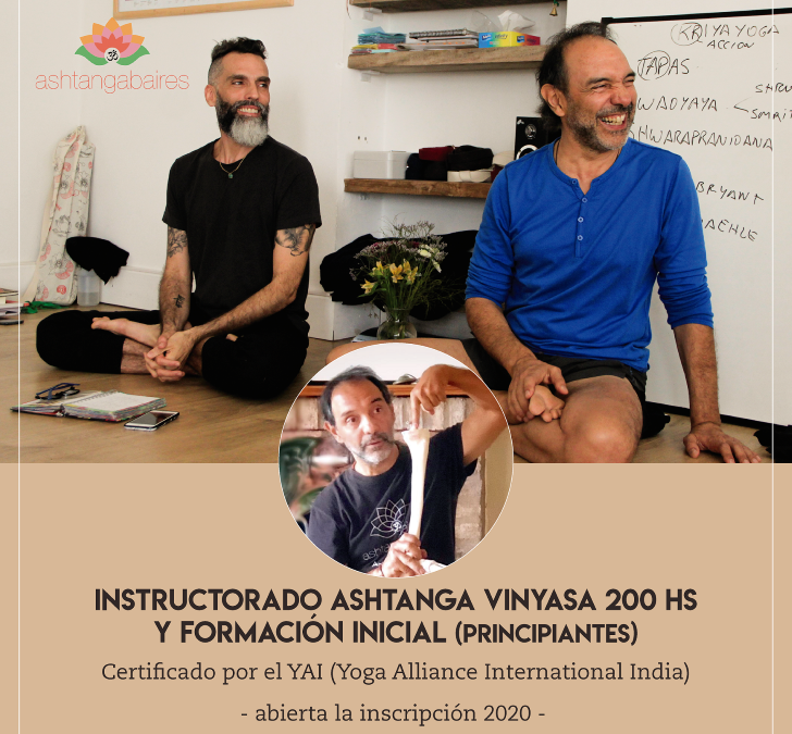 Instructorado de Ashtanga Vinyasa Yoga en Mar del Plata