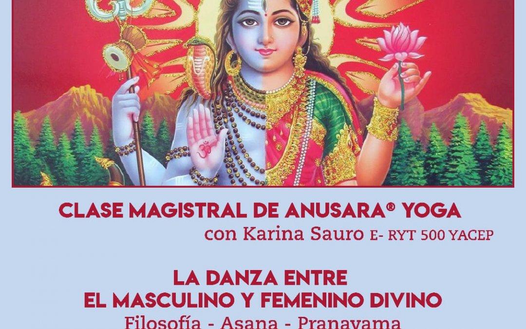 Clase Magistral de Anusara® Yoga en Mar del Plata