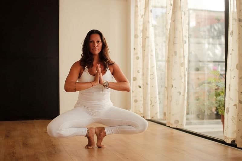 Practicá en la sala virtual de 14/7 Vinyasa Yoga, el estudio de luleå
